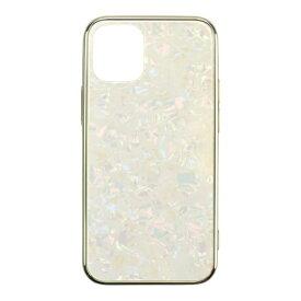CCCフロンティア CCC FRONTIER iPhone 12/12 Pro 6.1インチ対応 ケース Glass Shell Case ゴールド UNI-CSIP20L-0GSGD