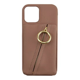 CCCフロンティア CCC FRONTIER iPhone 12/12 Pro 6.1インチ対応 ケース Clutch Ring Case ピンク ML-CSIP20L-2CRGP