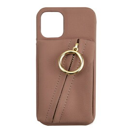 CCCフロンティア CCC FRONTIER iPhone 12 mini 5.4インチ対応 ケース Clutch Ring Case ピンク ML-CSIP20M-2CRGP