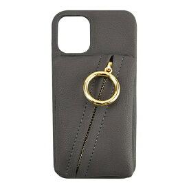 CCCフロンティア CCC FRONTIER iPhone 12 mini 5.4インチ対応 ケース Clutch Ring Case グレー ML-CSIP20M-2CRDG