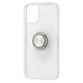 レイアウト rayout iPhone 12 mini 5.4インチ対応 TPUソフト リング付 シルバー RT-P26TC30/SVM
