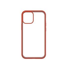 トリニティ Trinity iPhone 12 mini 5.4インチ対応 [GRAV] 衝撃吸収 抗菌ハイブリッドケース オレンジ TR-IP20S-GR-CLOR