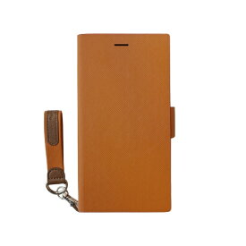 トリニティ Trinity iPhone 12 mini 5.4インチ対応 [FlipNote Smart] 耐衝撃 サフィアーノ オレンジ TR-IP20S-FNSJ-KLOR