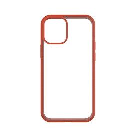 トリニティ Trinity iPhone 12/12 Pro 6.1インチ対応 [GRAV] 衝撃吸収 抗菌ハイブリッドケース オレンジ TR-IP20M-GR-CLOR