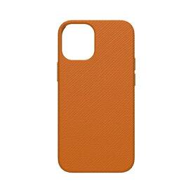 トリニティ Trinity iPhone 12/12 Pro 6.1インチ対応 [NUNO] バックケース サフィアーノ オレンジ TR-IP20M-NNJ-KLOR