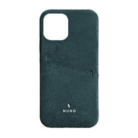 トリニティ Trinity iPhone 12 Pro Max 6.7インチ対応[NUNO] ポケット付き本革バックケース ブルー TR-IP20L-NNG2-NV