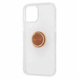 レイアウト rayout iPhone 12/12 Pro 6.1インチ対応 TPUソフト リング付 ブロンズ RT-P27TC30/BZM