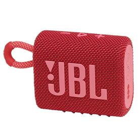 JBL ジェイビーエル ブルートゥース スピーカー レッド JBLGO3RED [Bluetooth対応 /防水]