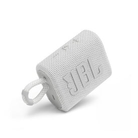 JBL ジェイビーエル ブルートゥース スピーカー ホワイト JBLGO3WHT [Bluetooth対応 /防水]