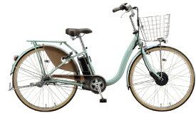 ブリヂストン BRIDGESTONE 電動アシスト自転車 FRONTIA フロンティアデラックス E.Xグレイッシュミント F6DB41 [26インチ /3段変速]【組立商品につき返品不可】 【代金引換配送不可】
