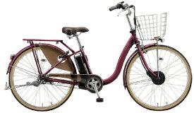 ブリヂストン BRIDGESTONE 24型 電動アシスト自転車 FRONTIA フロンティアデラックス(F.Xベルベッドローズ/3段変速)F4DB41【組立商品につき返品不可】 【代金引換配送不可】
