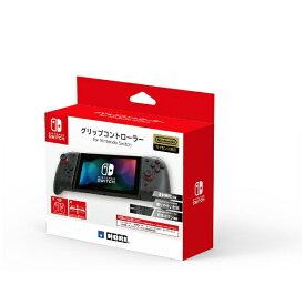 【2020年11月】 HORI ホリ グリップコントローラー for Nintendo Switch クリアブラック NSW-298【Switch】