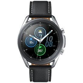SAMSUNG サムスン SM-R840NZSAXJP スマートウォッチ Galaxy Watch3 45mm ステンレススチール ミスティックシルバー【ribi_rb】