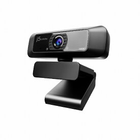 【2020年10月30日発売】 j5 create ジェイファイブクリエイト JVCU100 ウェブカメラ マイク内蔵 ブラック [有線]