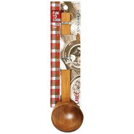 パール金属 PEARL METAL ファントゥクック 木製鍋用スプーン(ブラウン) B-1724