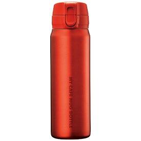 パール金属 PEARL METAL マイカフェマグ ワンタッチマグボトル 500ml マットレッド HB-4783