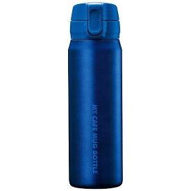 パール金属 PEARL METAL マイカフェマグ ワンタッチマグボトル 500ml マットブルー HB-4784