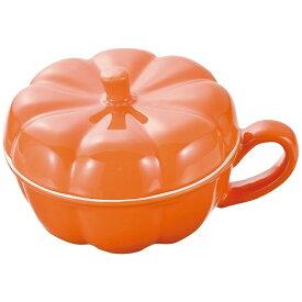 パール金属 PEARL METAL オーブンシェフ 耐熱蓋付カップ かぼちゃ(オレンジ) オレンジ L-1905