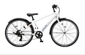 ブリヂストン BRIDGESTONE 24型 子供用自転車 シュライン(P.Xオーロラホワイト/外装7段変速) SHL41【2021年モデル】【組立商品につき返品不可】 【代金引換配送不可】