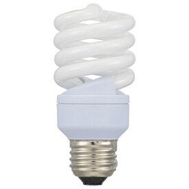 オーム電機 OHM ELECTRIC エコ電球スパイラル60WタイプE26電球色 ECOdeQ(エコデンキュウ) EFD15EL/12-SPB [E26 /電球色 /1個 /60W相当 /全方向タイプ]