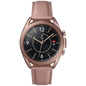 SAMSUNG サムスン SM-R850NZDAXJP スマートウォッチ Galaxy Watch3 41mm ステンレススチール ミスティックブロンズ【ribi_rb】