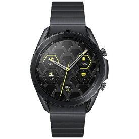 SAMSUNG サムスン SM-R840NTKAXJP スマートウォッチ Galaxy Watch3 45mm チタン ミスティックブラック【ribi_rb】