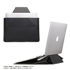 MOFT モフト ノートパソコン対応[16インチ] Carry Sleeve スタンドにもなるキャリングケース ナイト・ブラック MB002-1-1516-BK