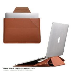 MOFT モフト ノートパソコン対応[16インチ] Carry Sleeve スタンドにもなるキャリングケース シエナ・ブラウン MB002-1-1516-BN
