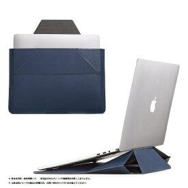 MOFT モフト ノートパソコン対応[13インチ] Carry Sleeve スタンドにもなるキャリングケース オックスフォード・ブルー MB002-1-13A-NAVY