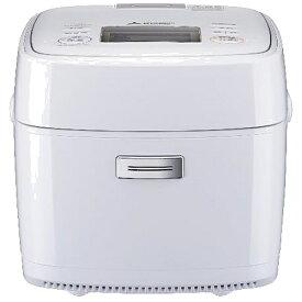 三菱 Mitsubishi Electric 炊飯器 備長炭 炭炊釜 月白(げっぱく) NJ-SEB06-W [3.5合 /IH]