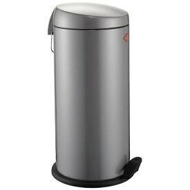 Wesco ウェスコ キッチンペダルビン&メタルライナー22L CAPBOY MAXI メタリックシルバー 121531-11 [22L /ペダル式]