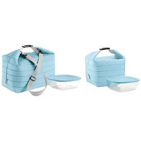 グッチーニ GUZZINI レンジジャー付きクーラーバッグ大小2個セットHANDY ブルー