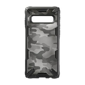 SIMILE シマイル [GALAXY S10専用]Ringke FUSION X DESIGN 耐衝撃ケース 661-042643 カモ/ブラック