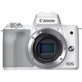 キヤノン CANON EOS Kiss M2 ミラーレス一眼カメラ ホワイト [ボディ単体]【point_rb】
