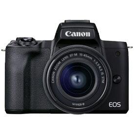 キヤノン CANON EOS Kiss M2 ミラーレス一眼カメラ EF-M15-45 IS STM レンズキット ブラック EOSKISSM2BK1545ISLK [ズームレンズ]【point_rb】