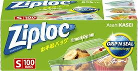 旭化成ホームプロダクツ Asahi KASEI Ziploc(ジップロック)お手軽バッグ S 100枚