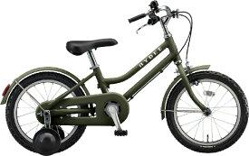 ブリヂストン BRIDGESTONE 16型 子供用自転車 ハイディキッズ(T.Yカーキ/シングルシフト) HYK16【組立商品につき返品不可】 【代金引換配送不可】