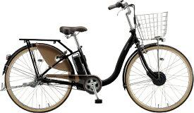 ブリヂストン BRIDGESTONE 電動アシスト自転車 フロンティアデラックス T.Xクロツヤケシ F6BB41 [3段変速 /26インチ]【組立商品につき返品不可】【point_rb】 【代金引換配送不可】