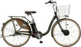 ブリヂストン BRIDGESTONE 電動アシスト自転車 フロンティアデラックス T.Xカーキ F6BB41 [3段変速 /26インチ]【組立商品につき返品不可】【point_rb】 【代金引換配送不可】