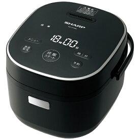 シャープ SHARP 炊飯器 ブラック系 KS-CF05C-B [マイコン /3合]