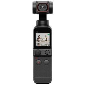 DJI ディージェイアイ DJI Pocket 2 3軸ジンバルスタビライザー搭載4Kカメラ OP2CP1