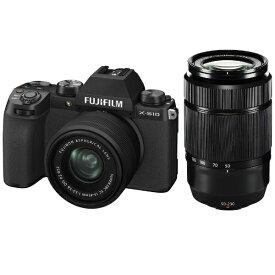 富士フイルム FUJIFILM X-S10LK-1545/5023 ミラーレス一眼カメラ ダブルズームレンズキット [ズームレンズ+ズームレンズ]