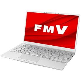 富士通 FUJITSU FMVU75E3W ノートパソコン LIFEBOOK UH75/E3 シルバーホワイト [13.3型 /AMD Ryzen 7 /SSD:256GB /メモリ:8GB /2020年冬モデル]