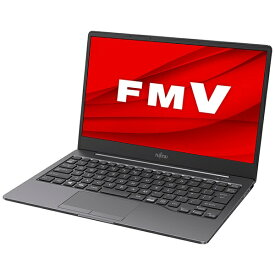 富士通 FUJITSU FMVEH1 ノートパソコン LIFEBOOK EH ダークシルバー [13.3型 /intel Core i3 /SSD:128GB /メモリ:4GB /2020年冬モデル]