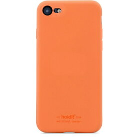 HOLDIT ホールディット iPhone7/8/SE用 ソフトタッチシリコーンケース オレンジ HOLDIT オレンジ