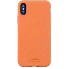HOLDIT ホールディット iPhoneX/Xs用 ソフトタッチシリコーンケース オレンジ HOLDIT オレンジ