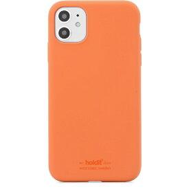 HOLDIT ホールディット iPhoneXR用 ソフトタッチシリコーンケース オレンジ HOLDIT オレンジ