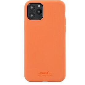 HOLDIT ホールディット iPhone11用 ソフトタッチシリコーンケース オレンジ HOLDIT オレンジ