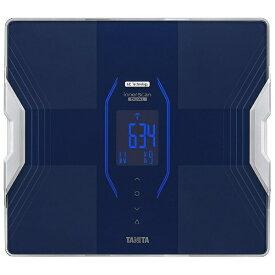 タニタ TANITA 体重体組成計 健康管理 お手軽 ダイエット Bluetooth スマホ管理 アプリで管理 グラフ表示 日本製 医療分野搭載 innerScan DUAL メタリックブルー RD-914L [スマホ管理機能あり]【ribi_rb】