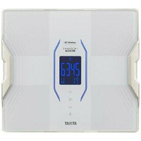 タニタ TANITA 体重体組成計 健康管理 お手軽 ダイエット Bluetooth スマホ管理 アプリで管理 グラフ表示 日本製 50g単位 医療分野搭載 innerScan DUAL パールホワイト RD-915L [スマホ管理機能あり]【ribi_rb】